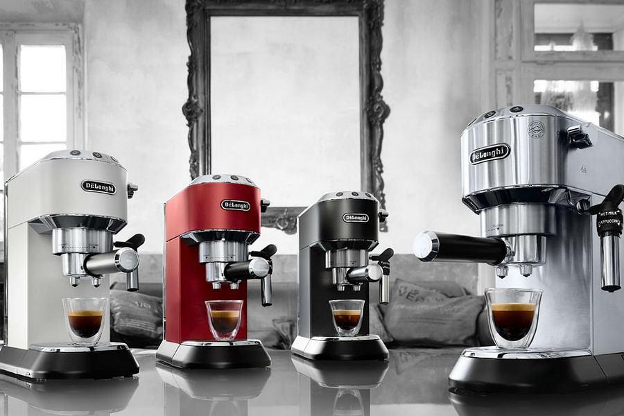 Ekspresy do kawy marki De'Longhi