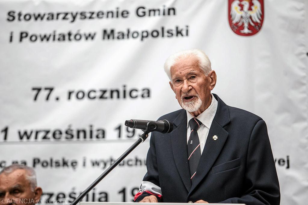 Prezes światowego Związku Żołnierzy Armii Krajowej Leszek Żukowski