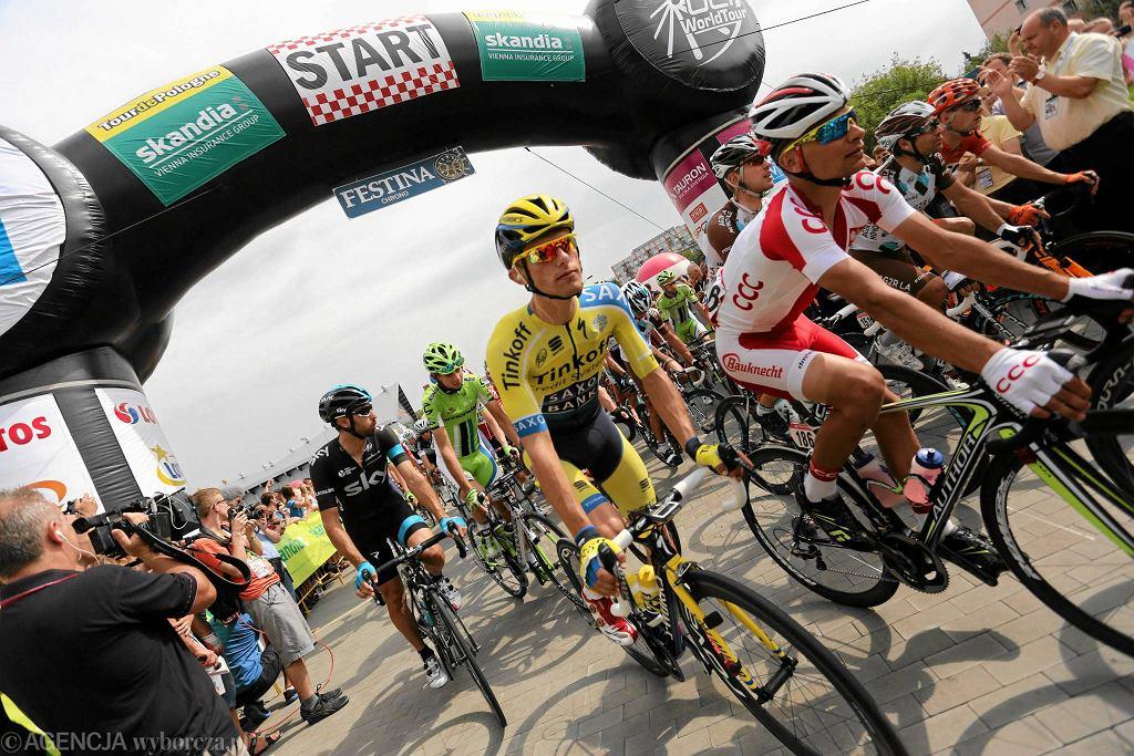 Rafał Majka w Tour de Pologne