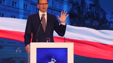 W Szczecinie odbyła się konwencja regionalna PiS. Przemawiał m.in. premier Mateusz Morawiecki / Zdjęcie ilustracyjne
