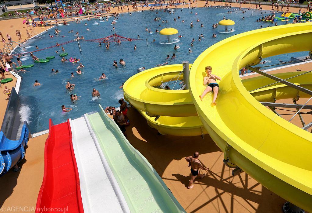 Park wodny Moczydło w dniu otwarcia odwiedziły tysiące warszawiaków