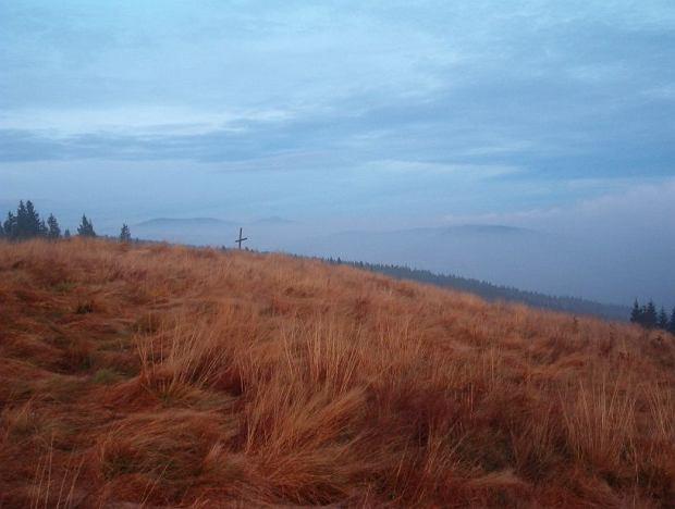 Polskie góry na jesień: Beskid Żywiecki. Hala Rycerzowa jesienia / Wikimedia Pudelek