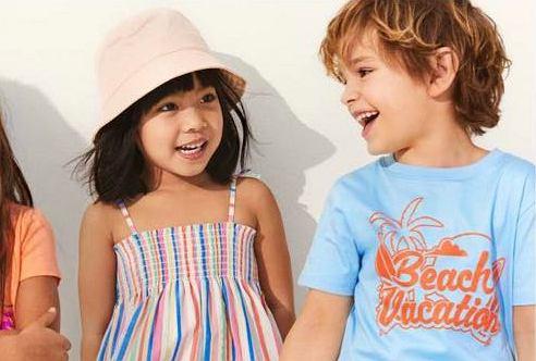 Kolekcja dziecięca na hm.com