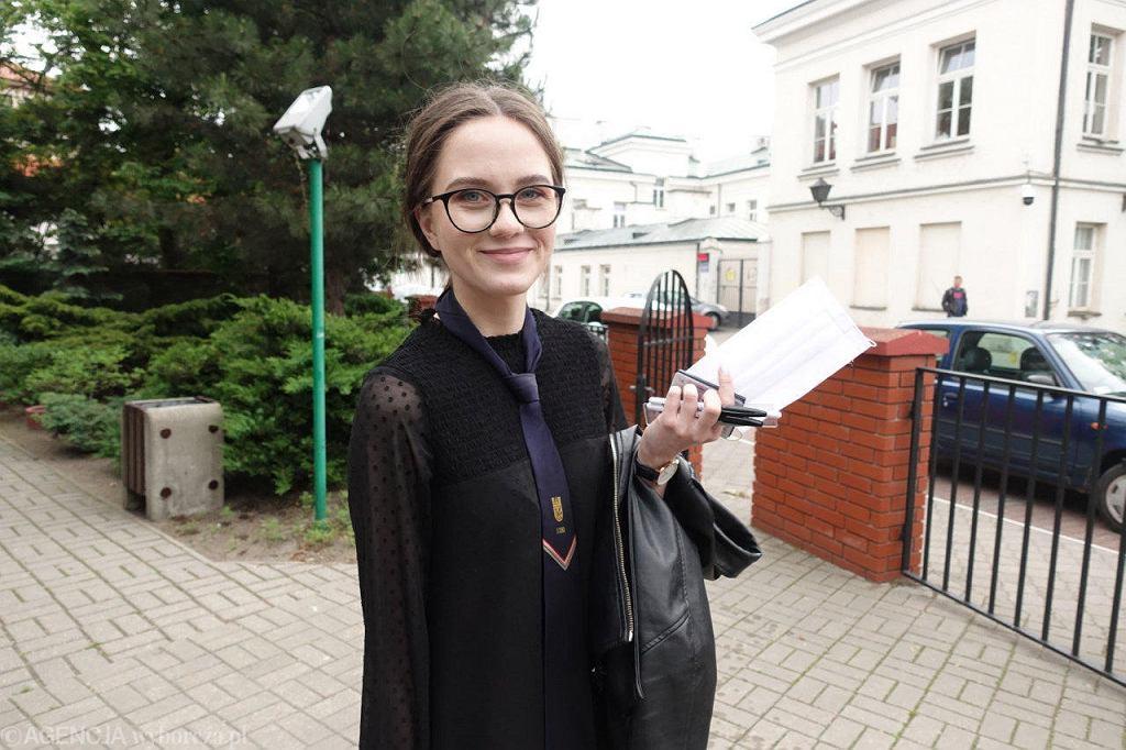 Matura 2020. Julia Chabowska