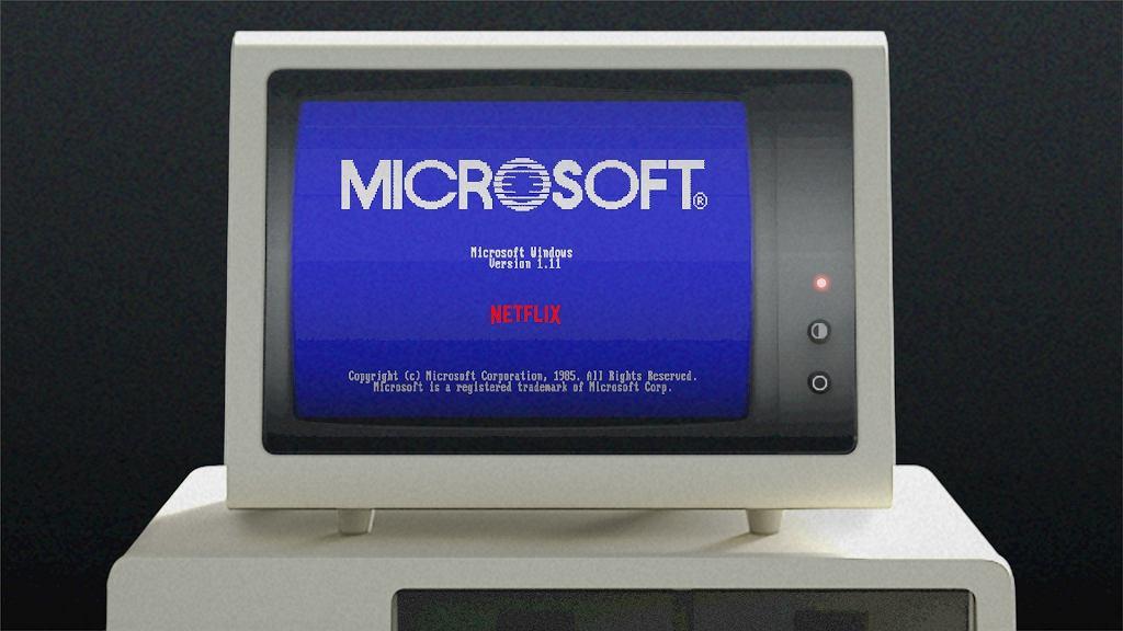 Oto Windows 1.11 - Microsoft wypuścił specjalną edycję systemu we współpracy z Netfliksem