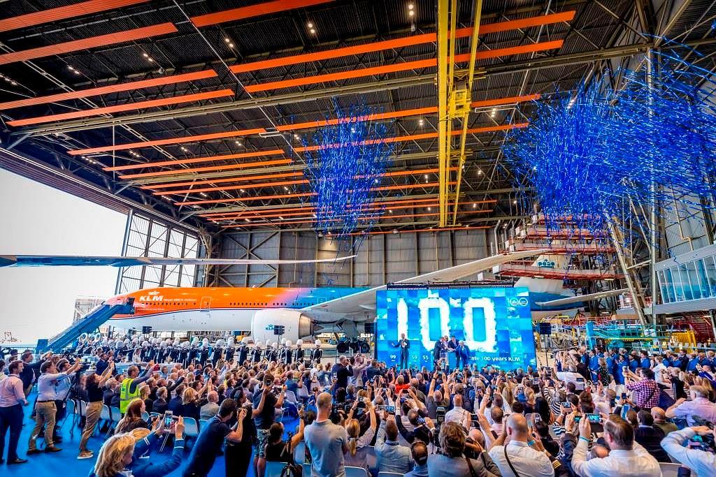 Obchody stulecia linii lotniczych KLM