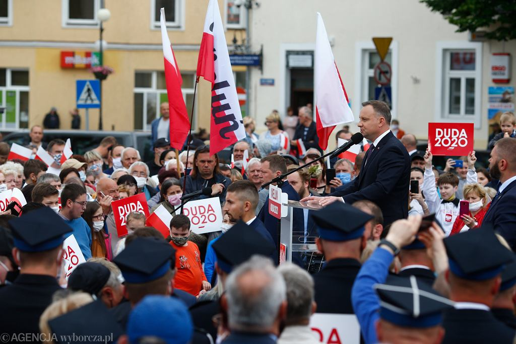 Spotkanie wyborcze Andrzeja Dudy