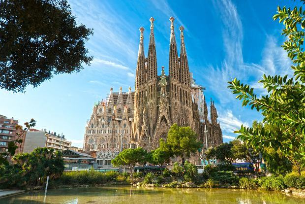 La Sagrada Familia w Barcelonie