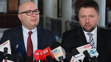 Robert Kropiwnicki i Marcin Kierwiński