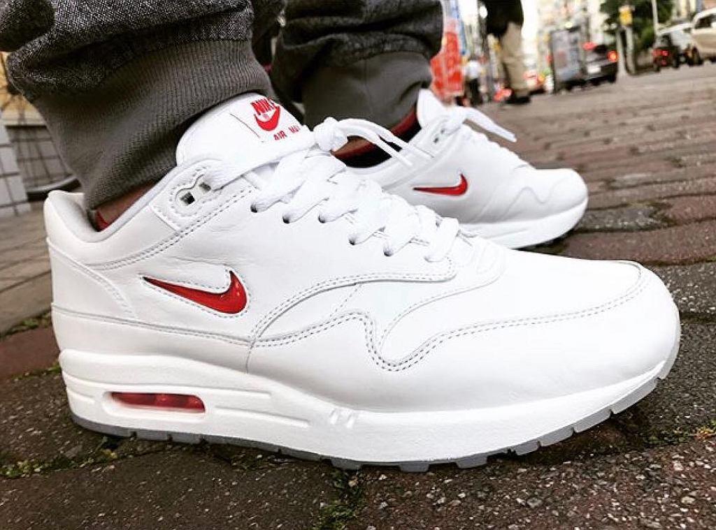 Nike Air Max 1 Damskie Buty Do Biegania Cytryna Biało