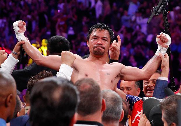 Manny Pacquiao nie zamierza kończyć kariery! Chce wielkiego rewanżu