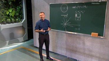 """Dr Tomasz Rożek, prowadzący program """"Sonda 2"""" w TVP"""