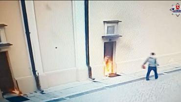 31-latek podpala drzwi kościoła w Opolu Lubelskim