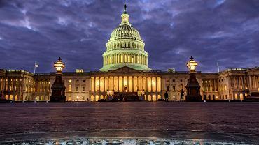 Gmach Kapitolu w Waszyngtonie.