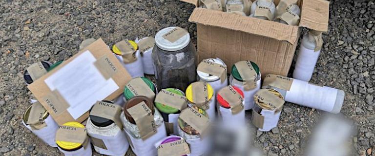 CBŚP przejęło materiały wybuchowe w dziesięciu województwach
