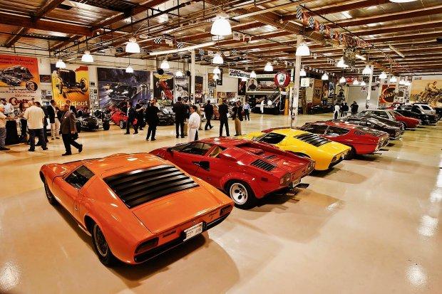 Słynne garaże - Jay Leno
