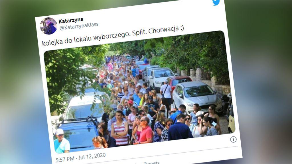 Wybory 2020 w Chorwacji. Olbrzymie kolejki przed konsulatem w Splicie