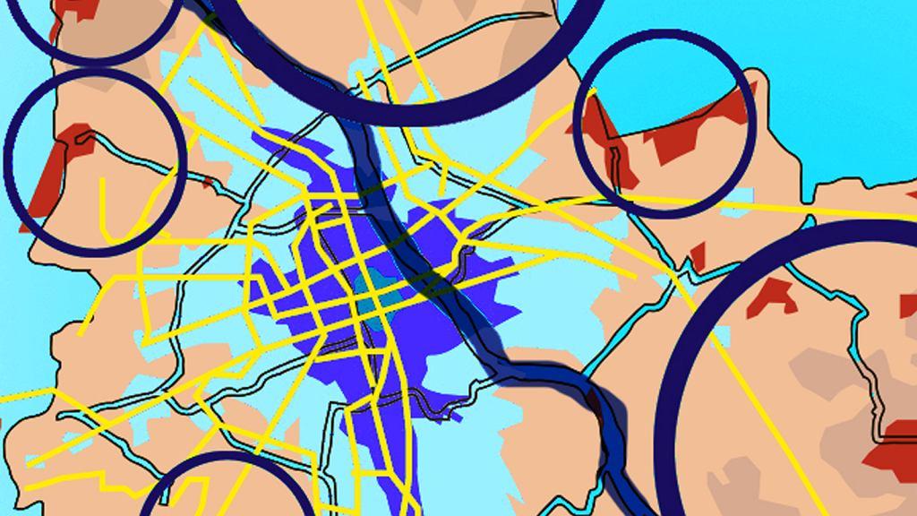Gdzie zamieszkać w stolicy, by nie utknąć w korkach?