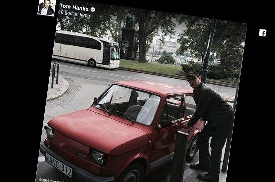 Zdjęcie numer 1 w galerii - Tom Hanks kupił sobie nowy samochód? Fani polskiej motoryzacji będą zachwyceni