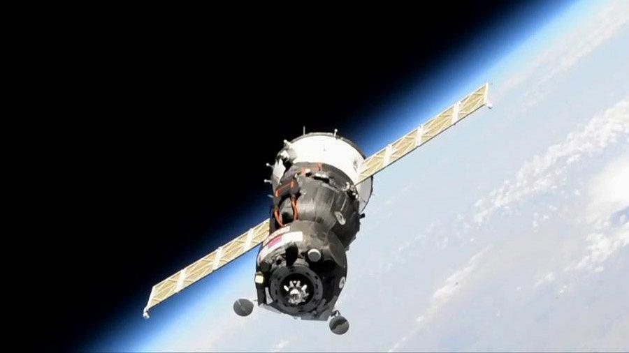 Nieudane dokowanie Sojuza do Międzynarodowej Stacji Kosmicznej.