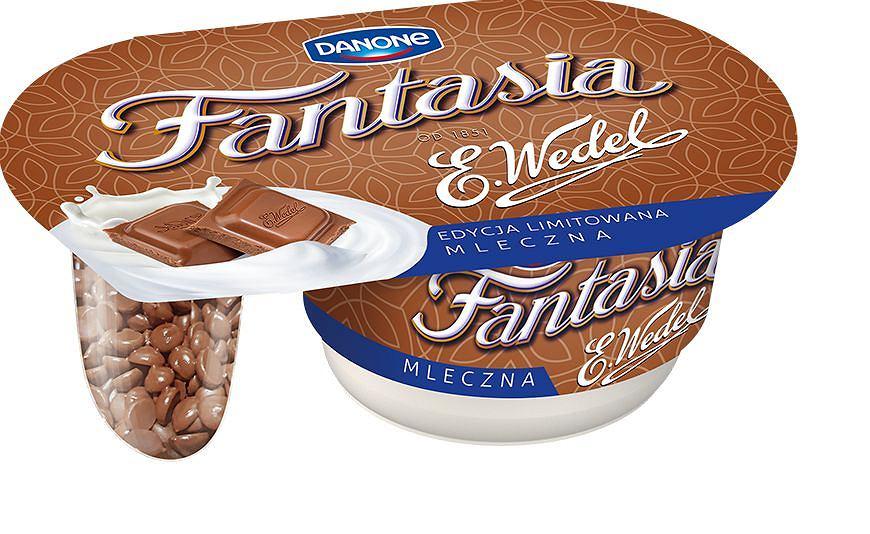 Fantasia z mleczną wedlowską czekoladą