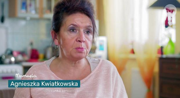 Starsza pani musi fiknąć Dawid Kwiatkowski z mamą