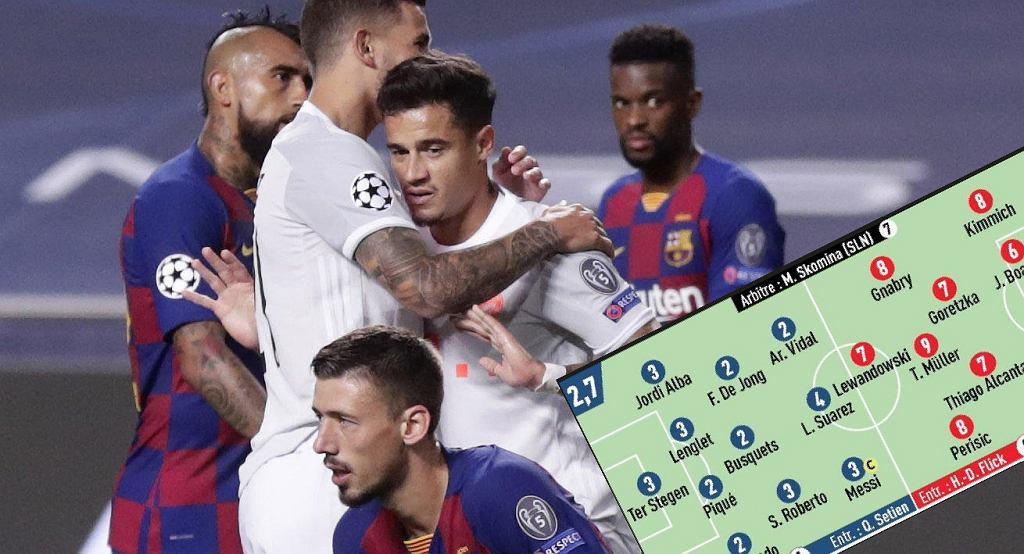Oceny po meczu Barcelona - Bayern w Lidze Mistrzów