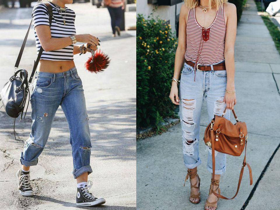 Jak Nosic Boyfriend Jeans