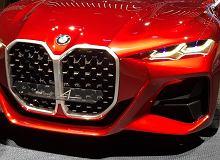 Pamiętacie BMW Concept 4 z wielkim grillem? Nowe BMW naprawdę może mieć TAKI przód [zdjęcie szpiegowskie]