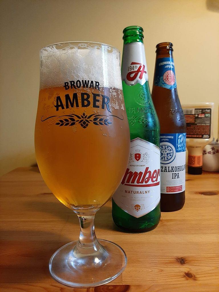 Piwa z browaru Amber