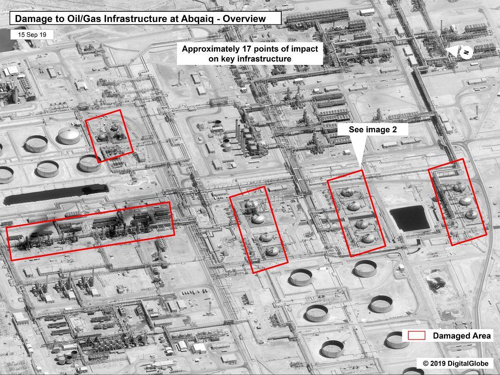 Zaatakowana rafineria w Arabii Saudyjskiej