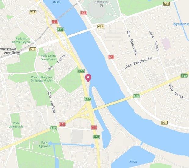 Knajpy nad Wisłą Warszawa