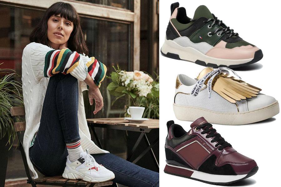 Sneakersy damskie Tommy Hilfiger