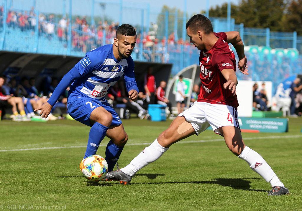 Ricardinho w meczu Wisła Płock - Wisła Kraków 2:1