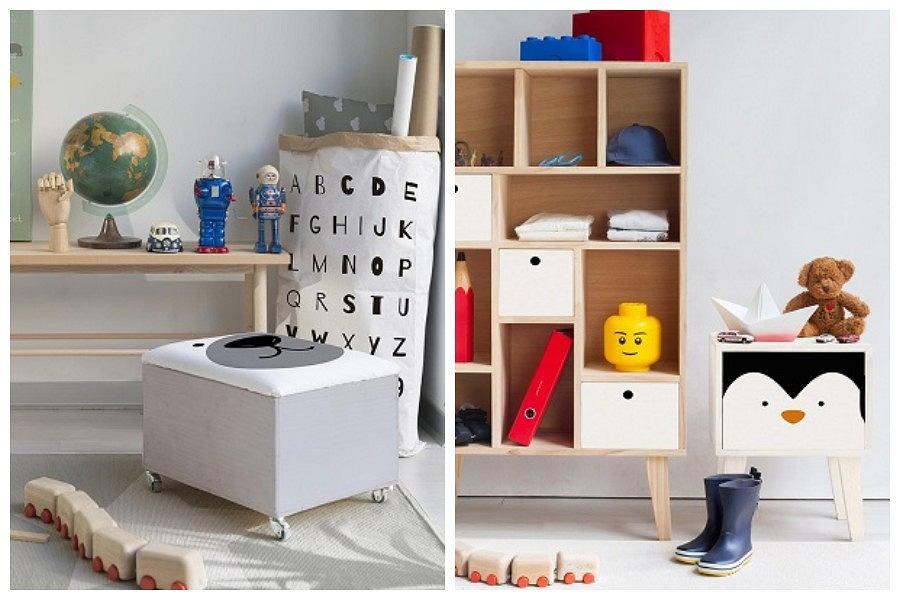 Przechowywanie zabawek w pokoju dziecięcym