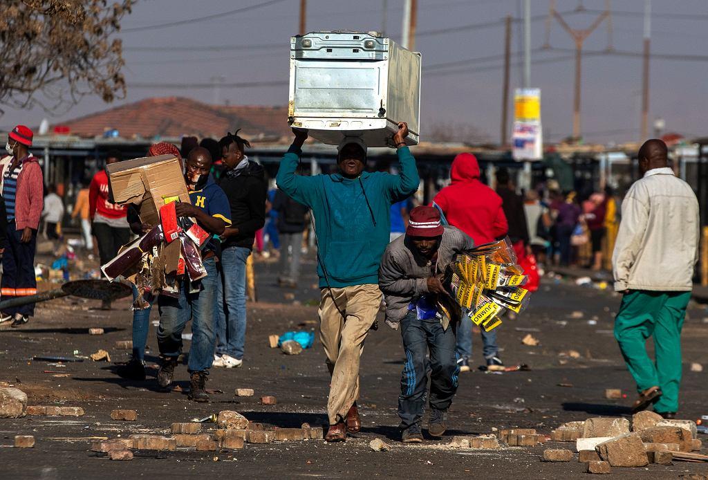 Rozruchy w RPA