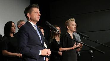 Ryszard Petru i Joanna Scheuring-Wielgus założyli partię Teraz!