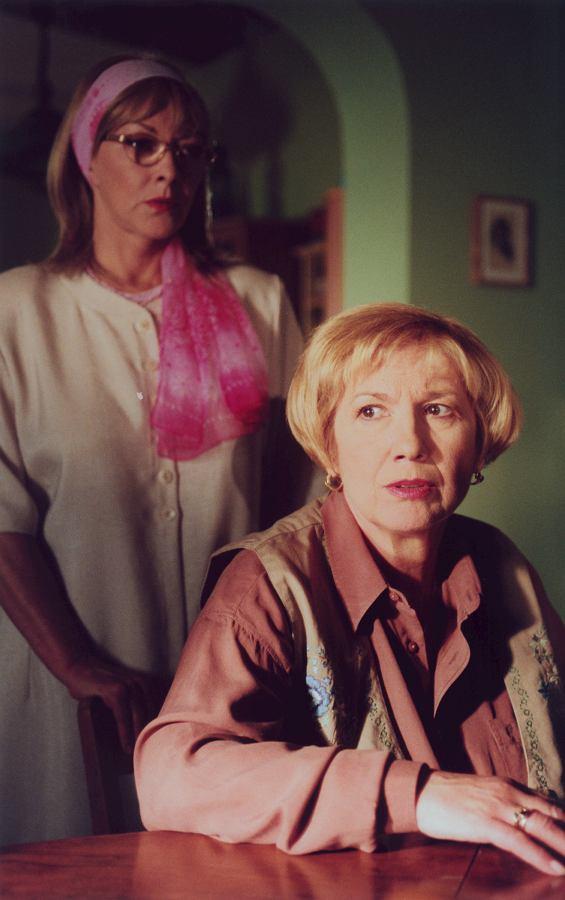 Barbara Brylska i Emilia Krakowska w 'Na dobre i na złe'  1999 rok