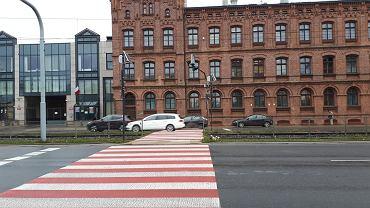 Niebezpieczne przejście dla pieszych przez ul. Kopcińskiego