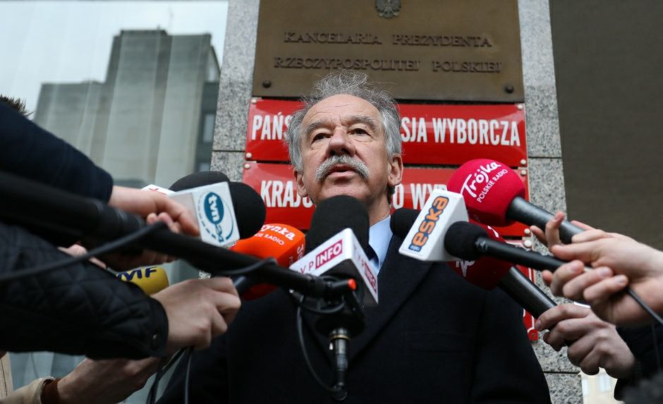Sędzia Wojciech Hermeliński, szef PKW