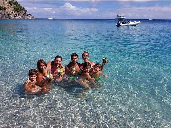 Leo Messi z rodziną na wakacjach
