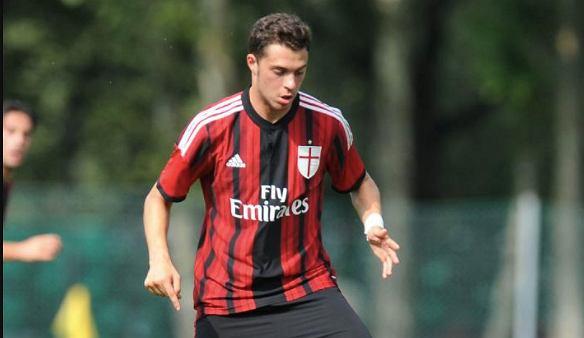 Gian Filippo Felicioli (Venezia) a wcześniej AC Milan. Źródło: Twitter