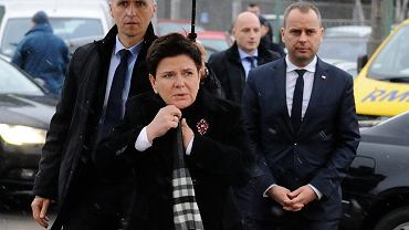 Premier Beata Szydło w Polkowicach