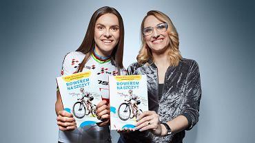 Maja Włoszczowska i Karolina Oponowicz ze wspólna książką Rowerem na Szczyt. Trenuj z Majką!