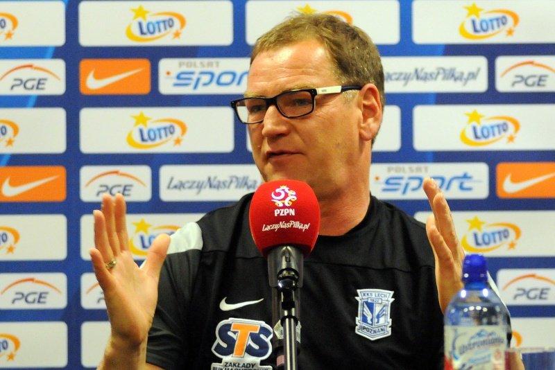 Jan Urban, trener Lecha Poznań