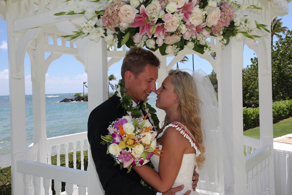 Jeden z ślubów, który zorganizowała firma Bożeny Hawaii Polonia Tours