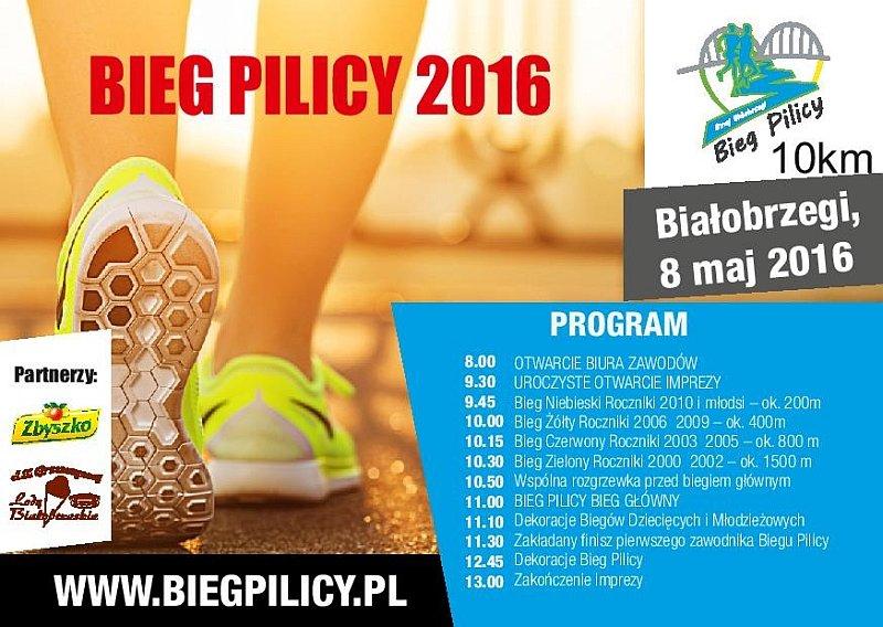Bieg Pilicy w Białobrzegach