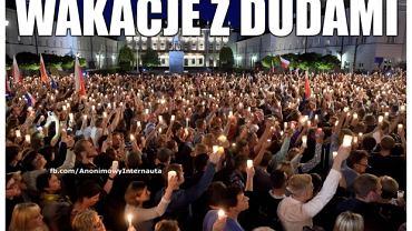 Weto Andrzeja Dudy - Sąd Najwyższy jednak nie dla PiS - memy ||