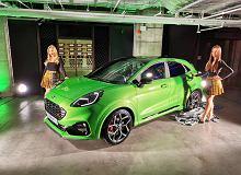 Byliśmy na premierze Forda Pumy ST. Wyróżnia się nie tylko jadowicie zielonym lakierem