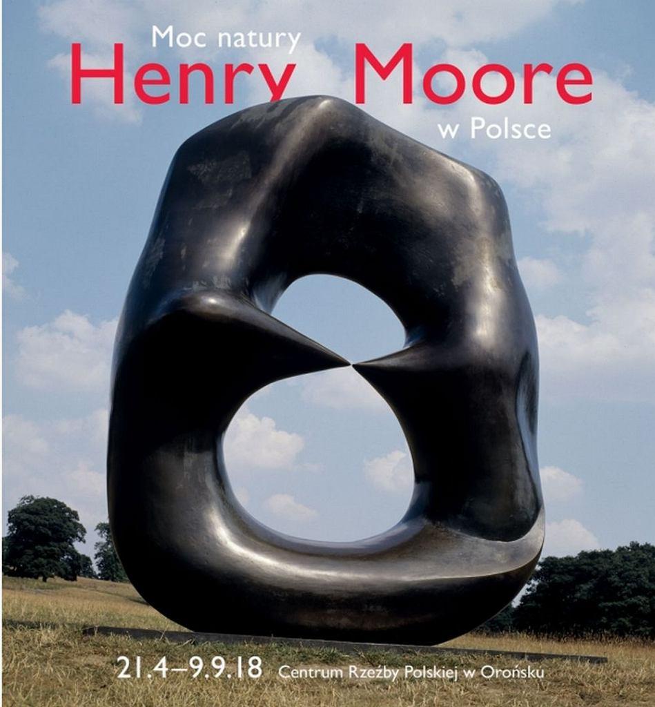 Moc natury Henry Moore w Polsce, Centrum Rzeźby w Orońsku / materiały promocyjne